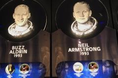 02/11 - Visita ao Kennedy Space Center Heroes and Legend, espaço para homenagear os grandes heróis das missões espaciais da NASA.