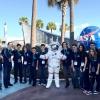 Encontram com astronauta
