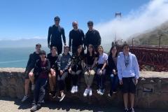 27/7 - Após a conclusão dos trabalhos, dia de relaxar. Visita pela manhã a Muir Woods, um parque nacional com as centenárias árvores mais altas da Califórnia. Depois cruzaram a icônica Golden Gate Bridge e, finalizando, um piquenique na praia.